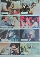 """ORIGINAL 1976 LOBBY CARD SET 10"""" x 8"""" - THE PINK PANTHER STRIKES AGAIN - SELLERS"""