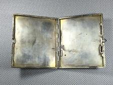 Ancien porte cigarettes en argent art déco 1950  french antique jewel