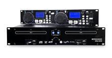 "B-WARE Pronomic Doppel DJ CD Player USB SD MP3 Pitch Bend  Effekte Loop 19"" Rack"