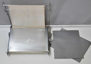 Photo film print dryer darkroom processing equipment & 2 metal sheets electric
