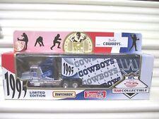 Matchbox Limited Edition 1995 1/80 NFL DALLAS COWBOYS Truck Mint in NearMint Box