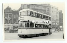 z0497 - Sheffield Tram - No.531 outside Cantors Furniture Store - photograph