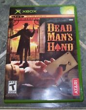 X-BOX Game - DEAD MAN'S HAND - Rated T - Exc. cond!