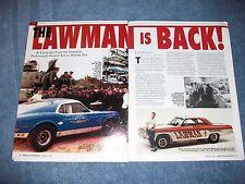 """Al """"Lawman"""" Eckstrand History Profile Info Article """"the Lawman is Back!"""""""