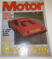 Motor Magazine Tested Ferrari's Red Hot 308 GTB October 1983 080514R1