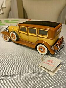 Franklin Mint 1930 Cadillac 2001 D4C Limited Edition 1:24