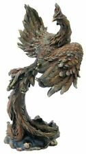 13 Inch Phoenix Bird Statue Mystical Collectible Figurine Figure Sculpture