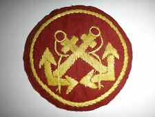 Vietnam War Hand Sewn Beret Patch ARVN MARINE CORPS Insignia (Old Style)