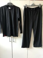 Virgin Atlantic Black Pyjamas Size S