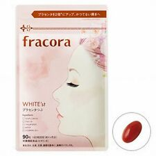 New! Fracora Placenta 10,000mg, 90tablets (30days), WHITE'st