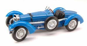 Model Car Scale 1:18 Burago Bugatti Type 59 diecast vehicles vintage Blue