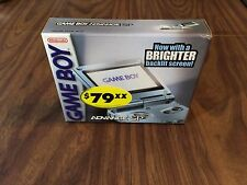 Nintendo Game Boy Advance, GBA SP Pearl Blue System AGS 101 - Brand New / Sealed