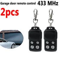 2x télécommande 433MHz de porte de garage pour Chamberlain / Motorlift 84335EML