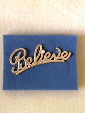 "2006 Avon Believe Gold Tone Cubic Zirconia ""REPRESENTATIVES"" Pin ❤️ BRAND NEW"