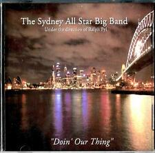 The Sydney All Star Big Band new/sealed cd album - Doin' Our Thing