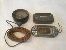 TELEOPTIC Car Arrow Turn Signal Light Housing & Art Deco Ford Chevy Automobile