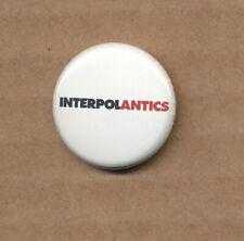 Interpol Antics RARE promo button 2004