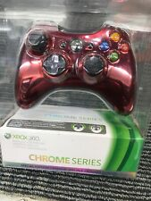 NEW SEALED OEM Microsoft Xbox 360 Controller Special Edition Red Chrome Series