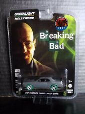 Greenlight Dodge Challenger Breaking Bad Hollywood Raw Super Green Machine 1/64
