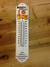 Thermometer emaille, enamel, porcelain ware, Maggi Products
