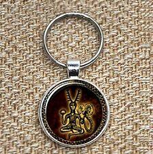 Cernunnos Keyring, Horned God, Wiccan, Pagan, Celtic