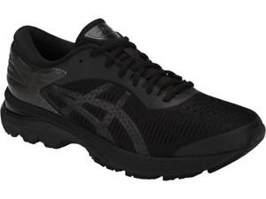 ASICS 1011A019.002 GEL-KAYANO 25 Mn's (M) Black/Black Mesh Running Shoes