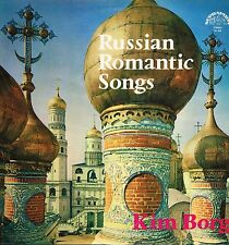 "LP 12"" 30cms: Russian romantic songs: Kim Borg. supraphon. F"