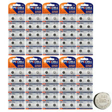 100 X AG3 LR41 SR41 392 192 1.5V Alkaline Button Coin Cell Watch Battery PKCELL