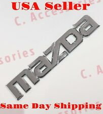 3D Mazda Emblem Badge Decal Sticker