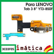 """FLEX DE CARGA PARA LENOVO YOGA TAB 3 8"""" YT3-850F CONECTOR MICRO USB PUERTO"""