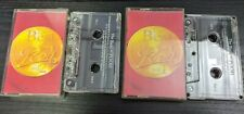 The Best of POOH Roby Facchinetti Volume 1 and 2 Cassettes Rare  Italian Singers