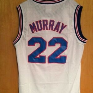 Bill Murray #22 Space Jam Tune Squad Basketball Jersey ADULT S M L XL 2XL