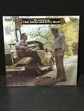 1970 CHET ATKINS & JERRY LEE  33rpm ME & JERRY RCA LSP-4396 LP RECORD
