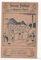 RABIER. Carte postale. Théorie Pratique. Carte publicitaire La Gaduase
