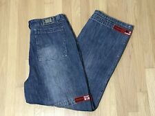 Marithe Francois Girbaud Blue Jeans 38 Red Shuttle Tape Hip Hop 37 X 32.5
