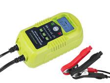 Carmotion Smart Battery Charger Wet Gel Agm 6V DC 2A &12V DC 2/4A