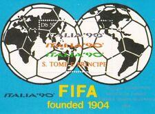 Sao Tome and Principe : World Cup Italia 90 ( Minisheet ) MNH