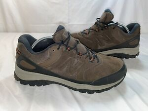 New Balance Mens MW769BR Brown Suede Black Hiking Walking Shoes US Size 12.5