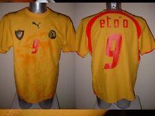 CAMERUN ETO'O adulto XL PUMA 2006 SHIRT JERSEY FOOTBALL SOCCER TRIKOT Africa