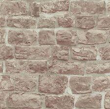ERISMANN OLD RUSTIC BRICK STONE WALL QUALITY VINYL WALLPAPER 5818-11