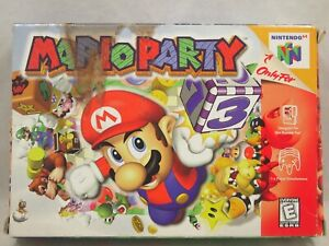 Mario Party (Nintendo 64 | N64) Authentic BOX ONLY