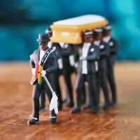 Cosplay Ghana Funeral Dancing Team Pallbearers Coffin Dance Figure Action Colle