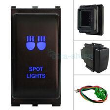 Blue LED SPOT LIGHTS Push Switch For Nissan Pathfinder R51 Patrol Navara