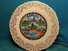 "Vtg 9 -3/8 "" Souvenir Kansas Eisenhower Sante Fe Dodge Dalton Museum State Plate"