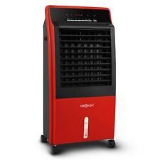 Ventilateur portable KLARSTEIN ioniseur humidificateur d'air 400M³/H rouge 65W