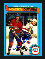 Steve Shutt Autographed Signed 1979-80 Topps Card #90 Montreal Canadiens 154309