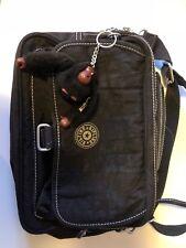 black kipling 'breezer' cross body bag, used