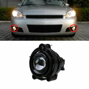 Front Side Bumper Fog Light Lamp For Chevy Impala 2006-2013 Malibu 2006-2008