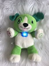 My Pal Scout Leap Frog Talking Puppy Dog Plush Toy 14""