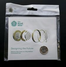 2017 Royal Mint Nations of the Crown BU £1 One Pound Coin Pack, still SEALED